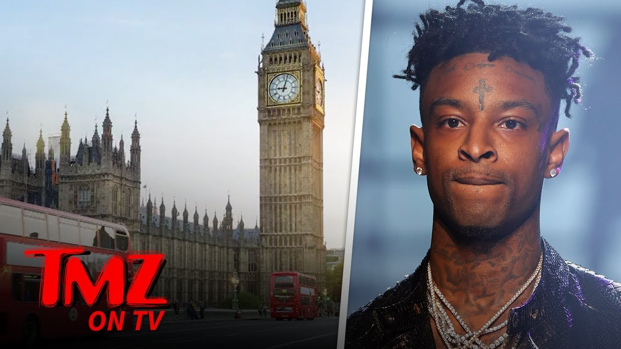21 Savage Surrenders, Booked & Released for Felony Theft After Skipping Gig | TMZ TV 5