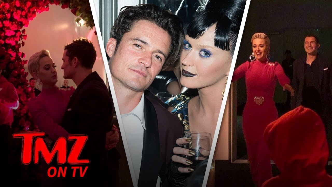 Katy Perry Gets Engaged To Orlando Bloom! | TMZ TV 4