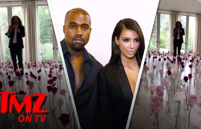 Kanye Gets Kenny G To Make Kim's V Day | TMZ TV 1