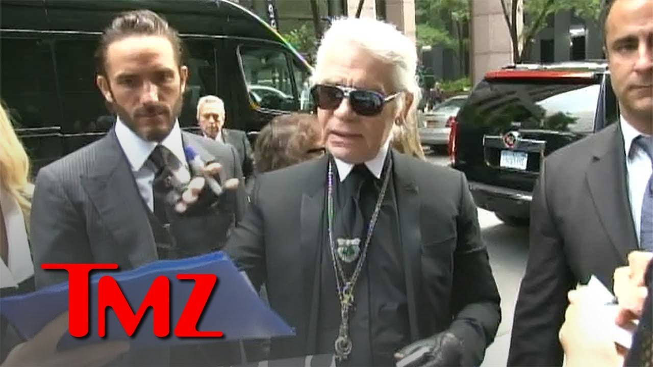 Fashion Icon Karl Lagerfeld Dead at 85 | TMZ 4
