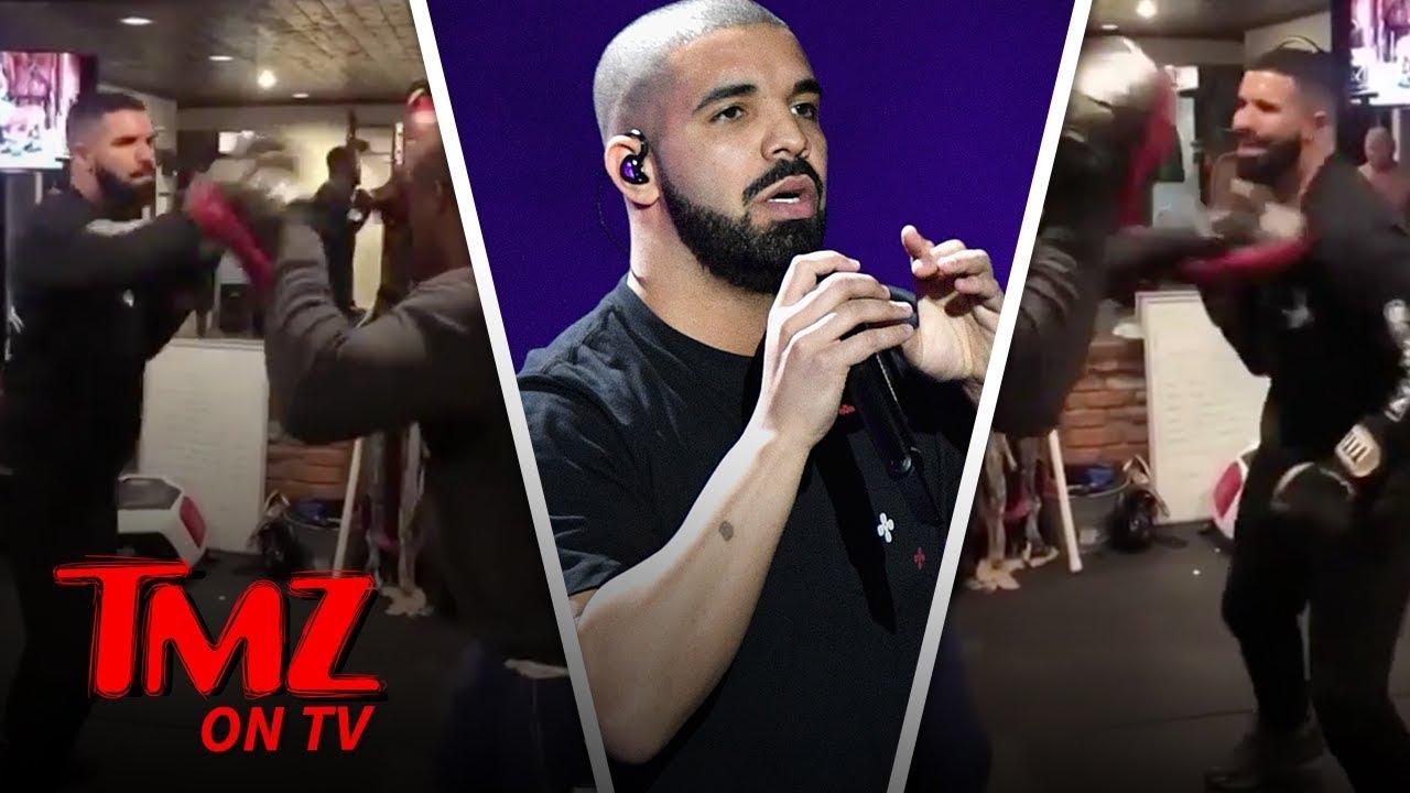 Drake Can Throw A Punch! | TMZ TV 4