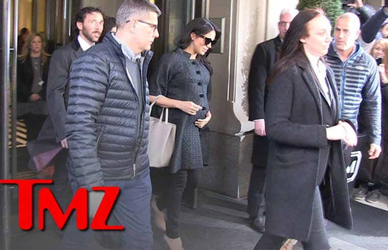 Meghan Markle Outside Her Baby Shower in New York City | TMZ 1