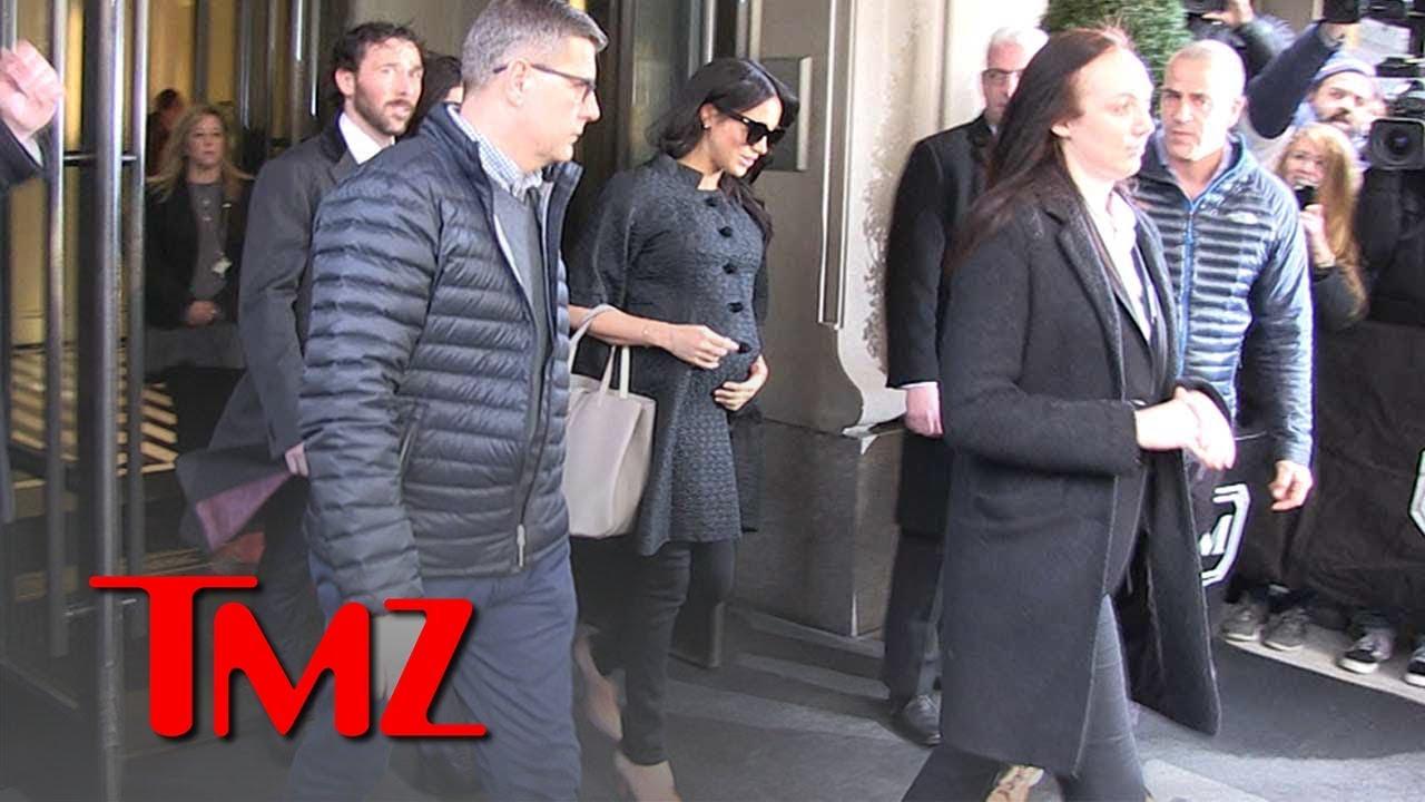 Meghan Markle Outside Her Baby Shower in New York City | TMZ 5