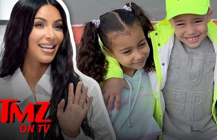 Kim K Says Her Daughter Is SINGLE!   TMZ TV 1