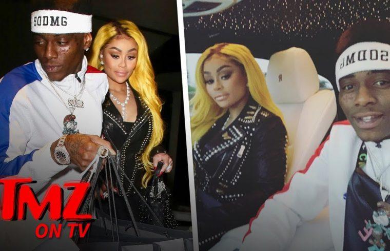 Soulja Boy & Blac Chyna Together To Get Back At Tyga? | TMZ TV 1