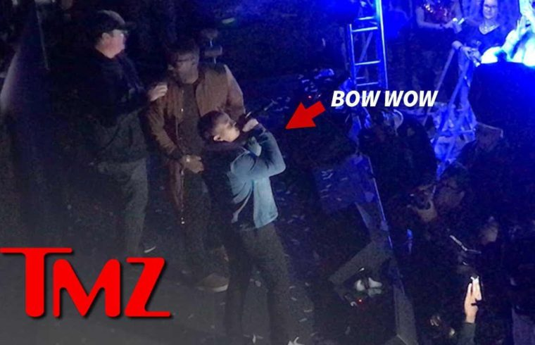 Bow Wow Makes Appearance At Shaq's Super Bowl Event Hours Before Arrest | TMZ 1