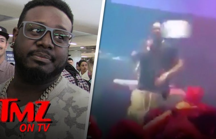 T-Pain Hit In The Face While Performing | TMZ TV 1