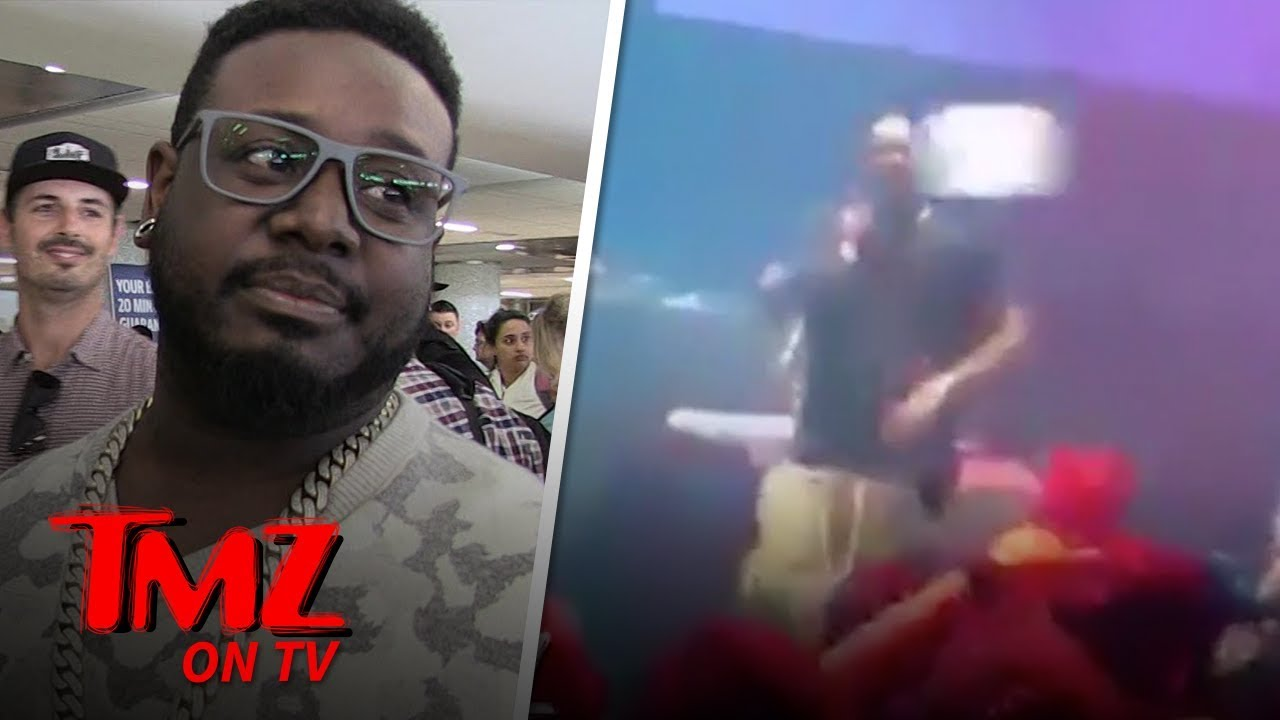 T-Pain Hit In The Face While Performing | TMZ TV 4