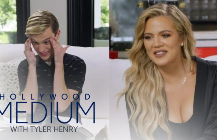 Did Tyler Henry Predict Tristan & Jordyn's Cheating Drama? | Hollywood Medium with Tyler Henry | E! 1
