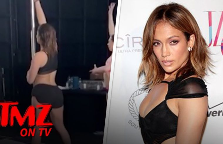 JLo Is A Pole Dancer Now! | TMZ TV 1