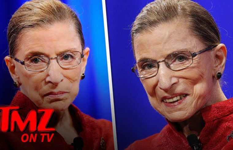 Ruth Bader Ginsburg Is Alive And Well! | TMZ TV 1
