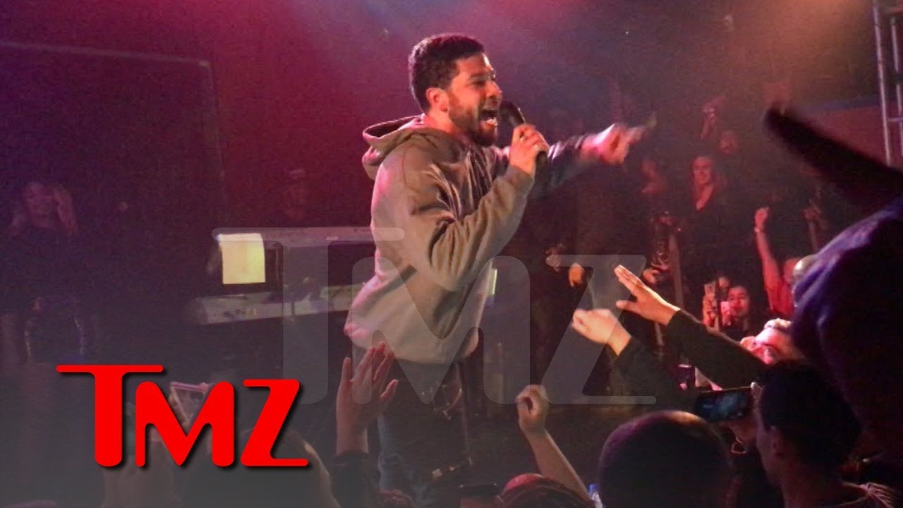 Jussie Smollett Calls The Crowd To Action At His First Concert Since Attack | TMZ 4