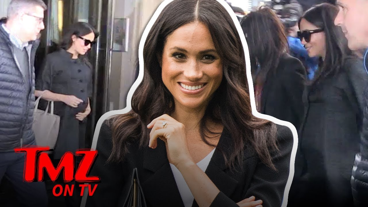 Meghan Markle Has Some High Profile Friends | TMZ TV 3