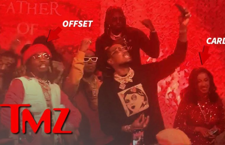 Offset. Cardi B and Others Turn Up At His Listening Party | TMZ 1