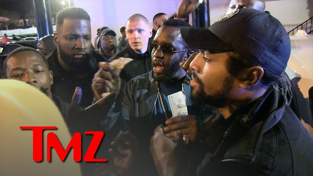 Diddy Hurls Money at Crowd Outside Magic City Strip Club in Atlanta | TMZ 4