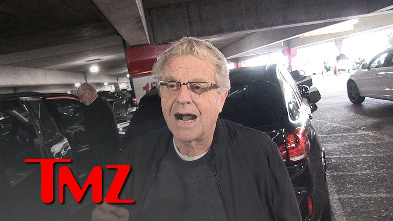 Jerry Springer Says Jussie Smollett Should've Worked for a Pay Raise | TMZ 3