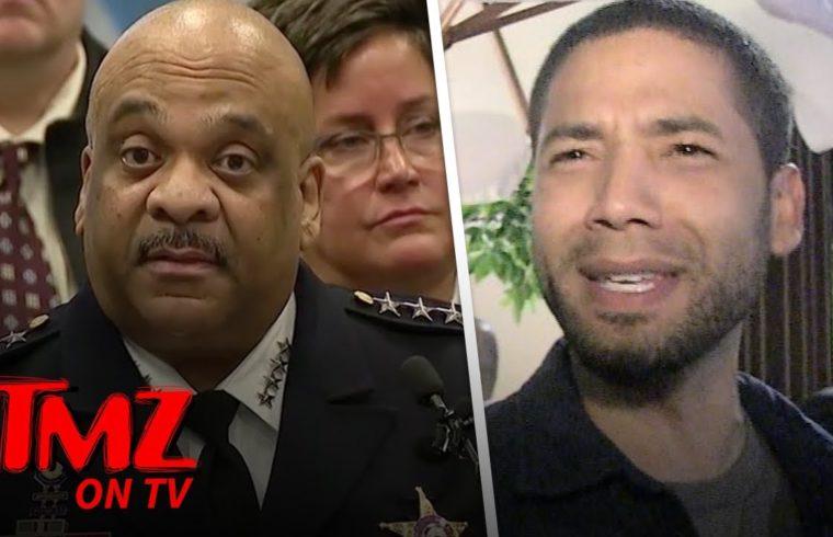 Police Superintendent Eddie Johnson says Jussie Smollet Was Being Greedy | TMZ TV 1
