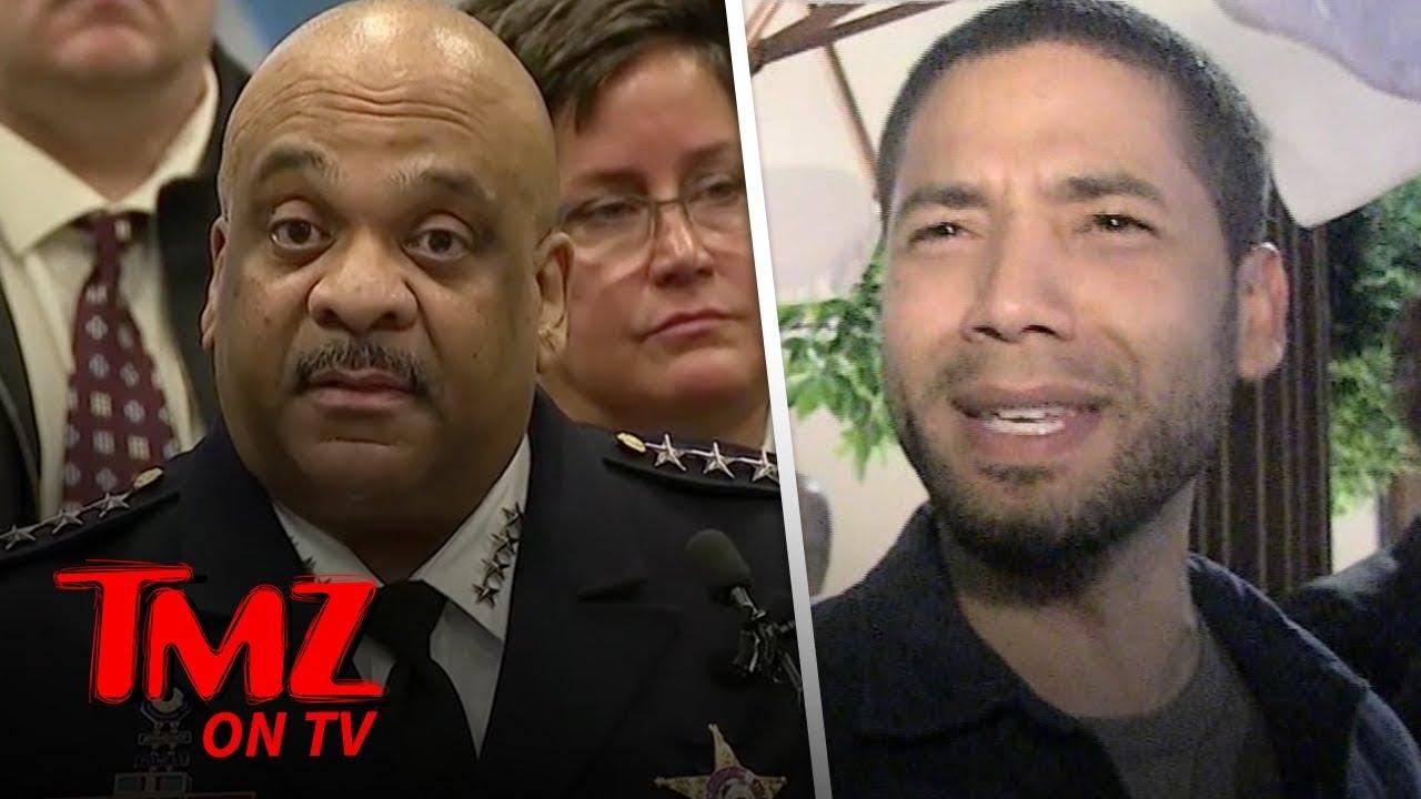 Police Superintendent Eddie Johnson says Jussie Smollet Was Being Greedy | TMZ TV 2