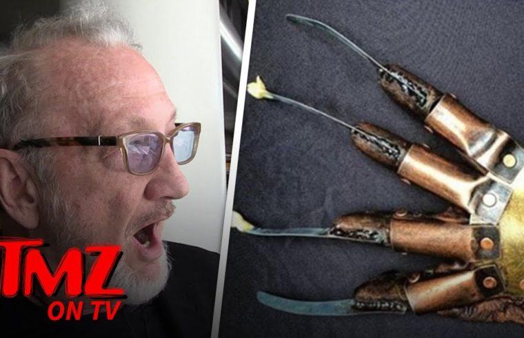 Robert Englund Got Stopped in Canada Because of Freddy Krueger | TMZ TV 1