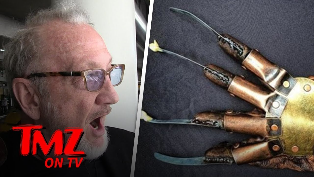 Robert Englund Got Stopped in Canada Because of Freddy Krueger | TMZ TV 3