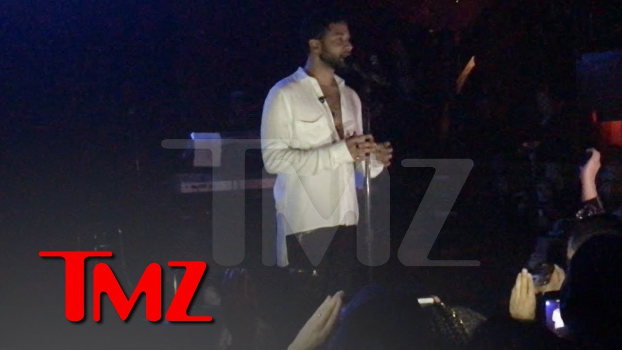 Jussie Smollett Performs and Says 'I Couldn't Let Those Motherf*****s Win' | TMZ 3