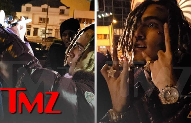 Shouting Match with Cops Under Review by Miami PD While Lil Pump Parties | TMZ 1