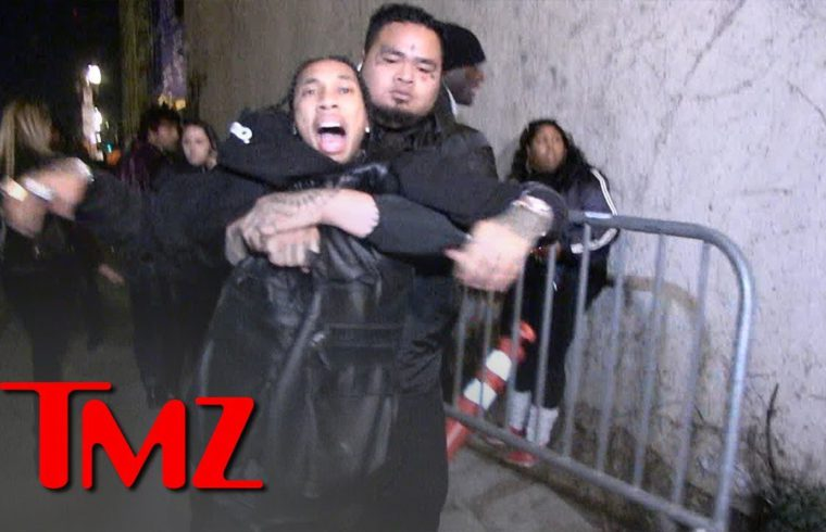 Tyga Grabs for Gun After Being Dragged Out of Floyd Mayweather's Birthday Party | TMZ 1