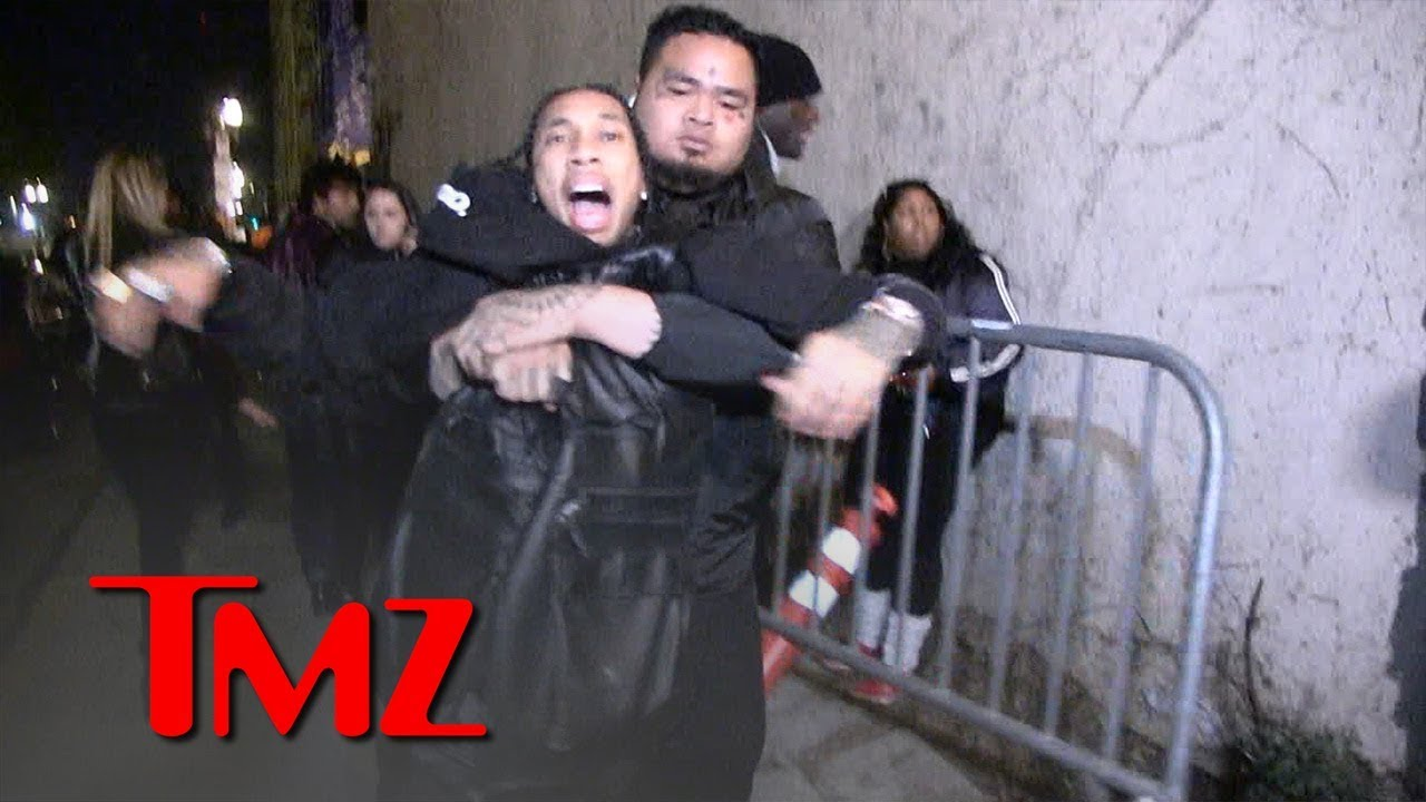Tyga Grabs for Gun After Being Dragged Out of Floyd Mayweather's Birthday Party | TMZ 4