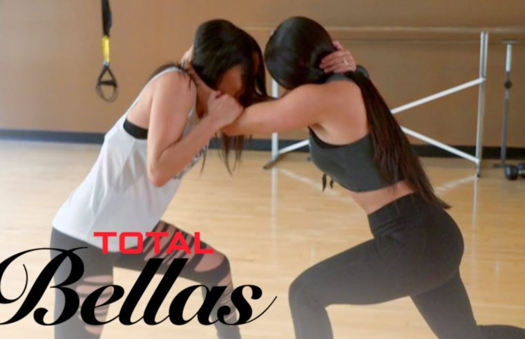 Bella Twins Face Off in Friendly Sparring Session | Total Bellas | E! 1