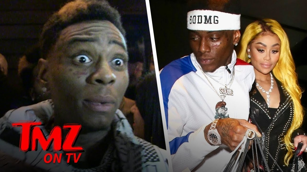 Soulja Boy Just Wanted Some Of Blac Chyna's Yum Yum Box | TMZ TV 1