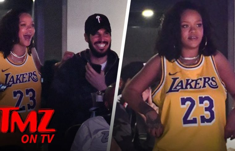 Rihanna Cheers On Lebron While Celebrating Her Birthday! | TMZ TV 1