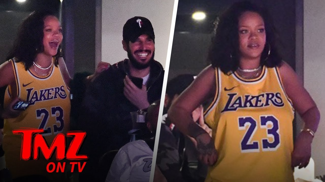 Rihanna Cheers On Lebron While Celebrating Her Birthday! | TMZ TV 5