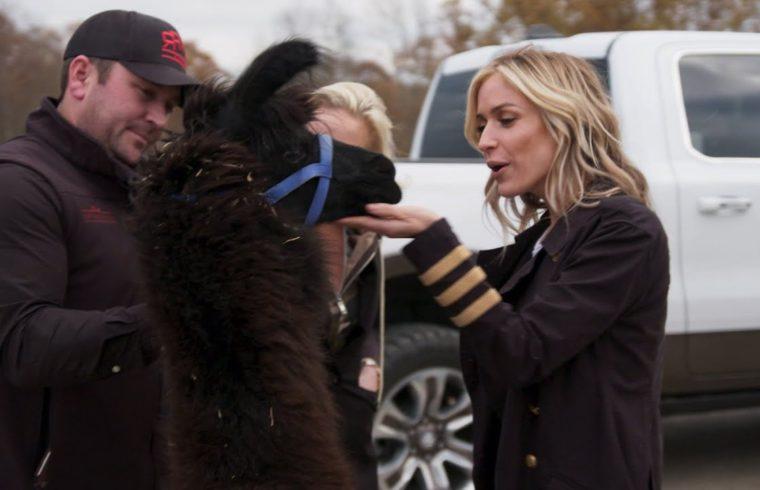 Kristin Cavallari Surprises Hubby Jay With a Llama 1