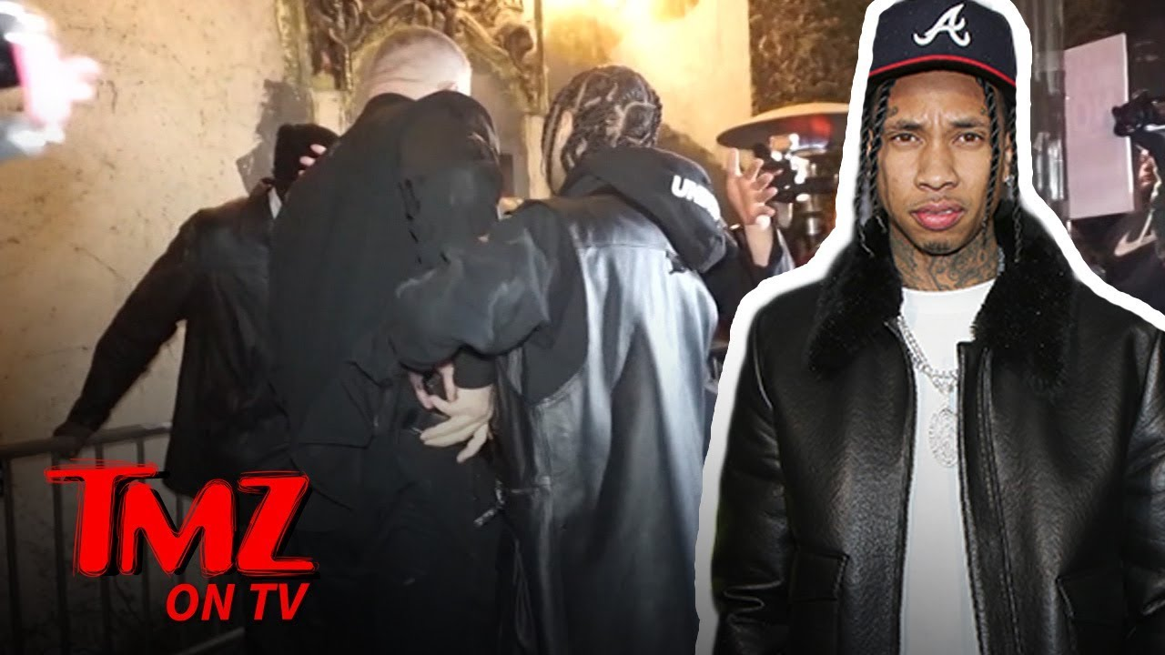 Tyga Dragged Out of Floyd Mayweather's Birthday Party | TMZ TV 2