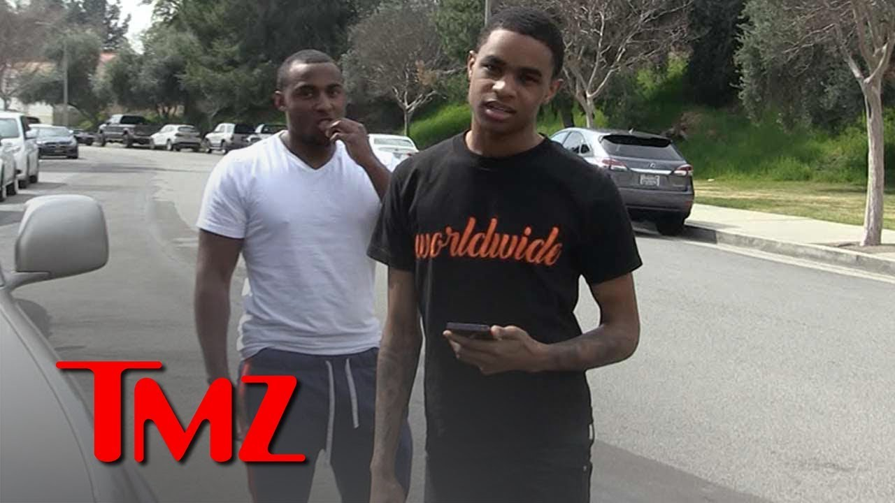 YBN Almighty Jay Surrenders to Cops in Felony Theft Case | TMZ 3