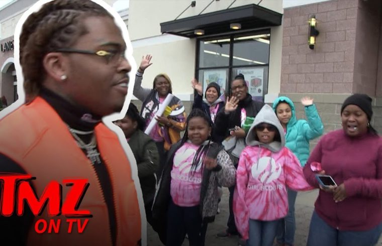 Rapper Gunna Buys Entire Table of Girl Scout Cookies   TMZ TV 1