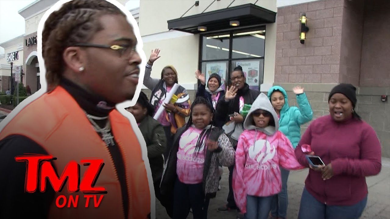 Rapper Gunna Buys Entire Table of Girl Scout Cookies | TMZ TV 5
