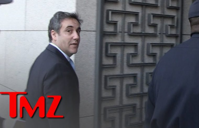 Michael Cohen Arrives at Capitol to Speak Before Congress About Trump | TMZ 1