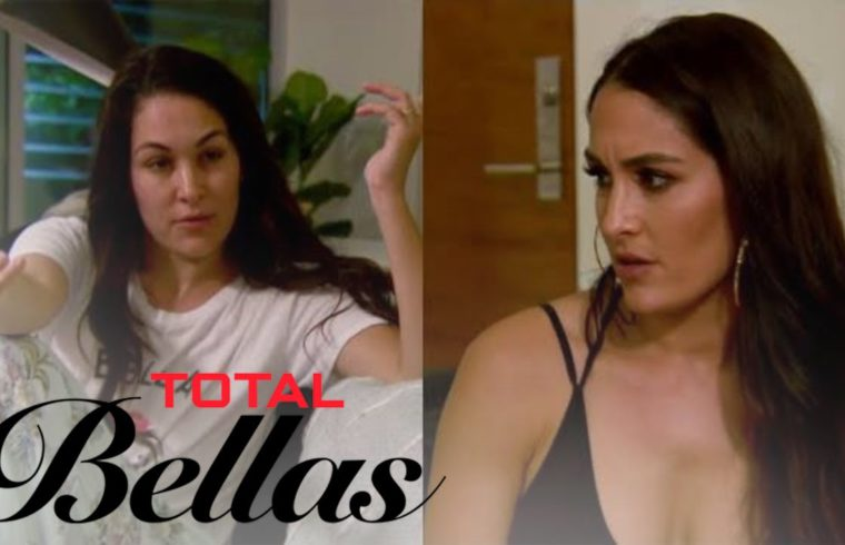 Nikki Bella Wakes Brie Up to Talk Date With Peter Kraus | Total Bellas | E! 1