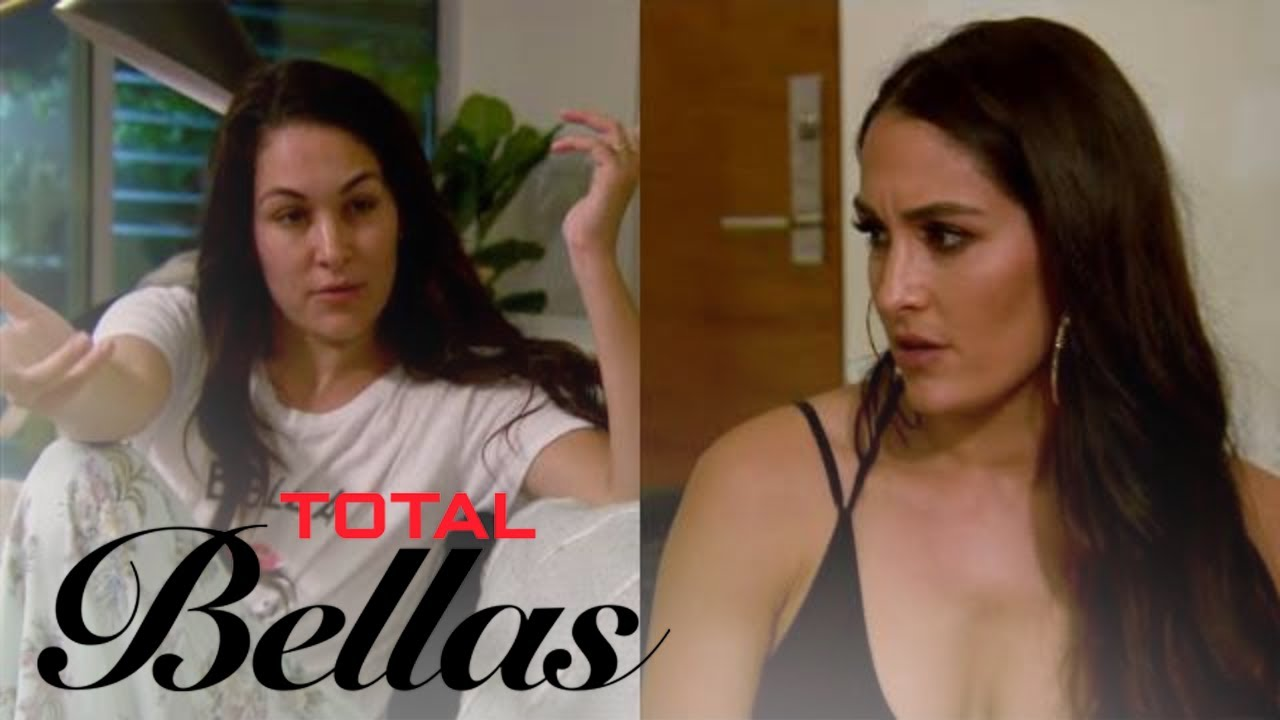 Nikki Bella Wakes Brie Up to Talk Date With Peter Kraus | Total Bellas | E! 3