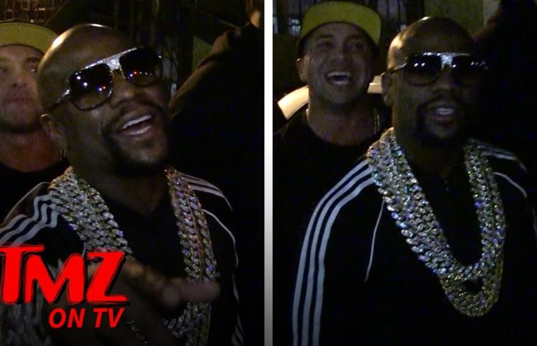 Floyd Mayweather Isn't Too Worried About Tyga After Fight At His Birthday | TMZ TV 1
