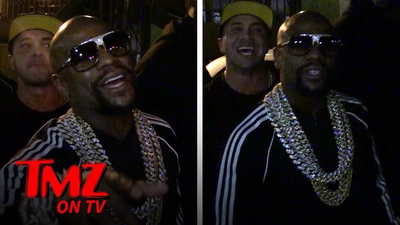 Floyd Mayweather Isn't Too Worried About Tyga After Fight At His Birthday | TMZ TV 5