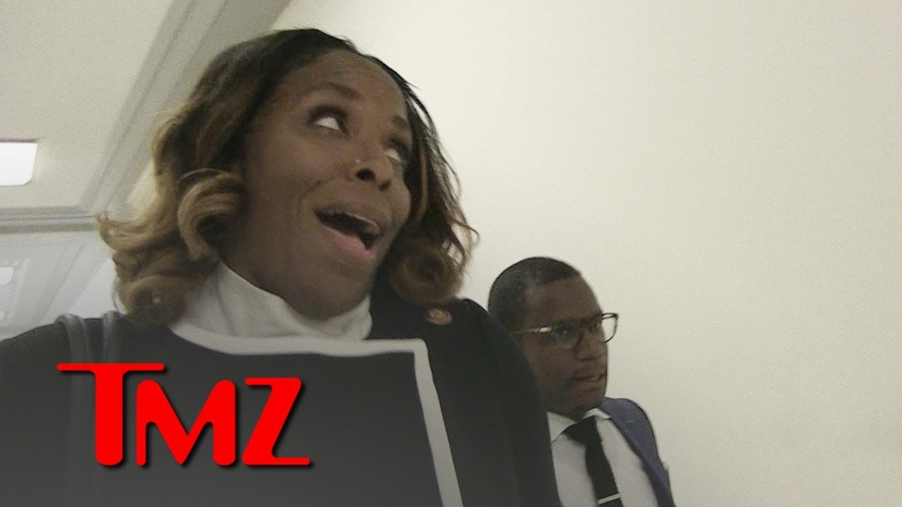 Rep Stacey Plaskett Says Her Eye Roll at Rep Jordan Was Show of Contempt | TMZ 3