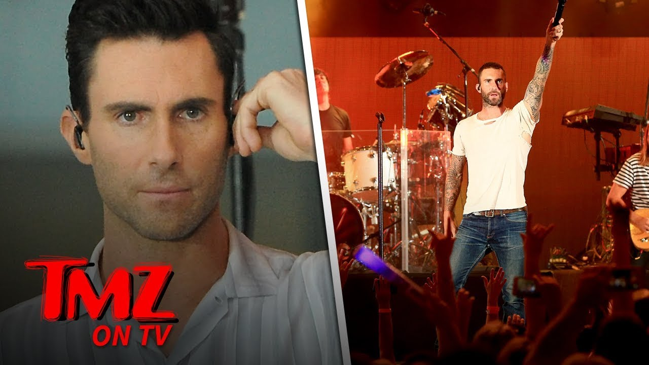 NFL Cancels Maroon 5 Super Bowl Halftime Show Press Conference | TMZ TV 5