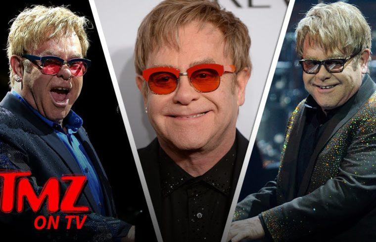 Elton John Is Officially Done Touring | TMZ TV 1