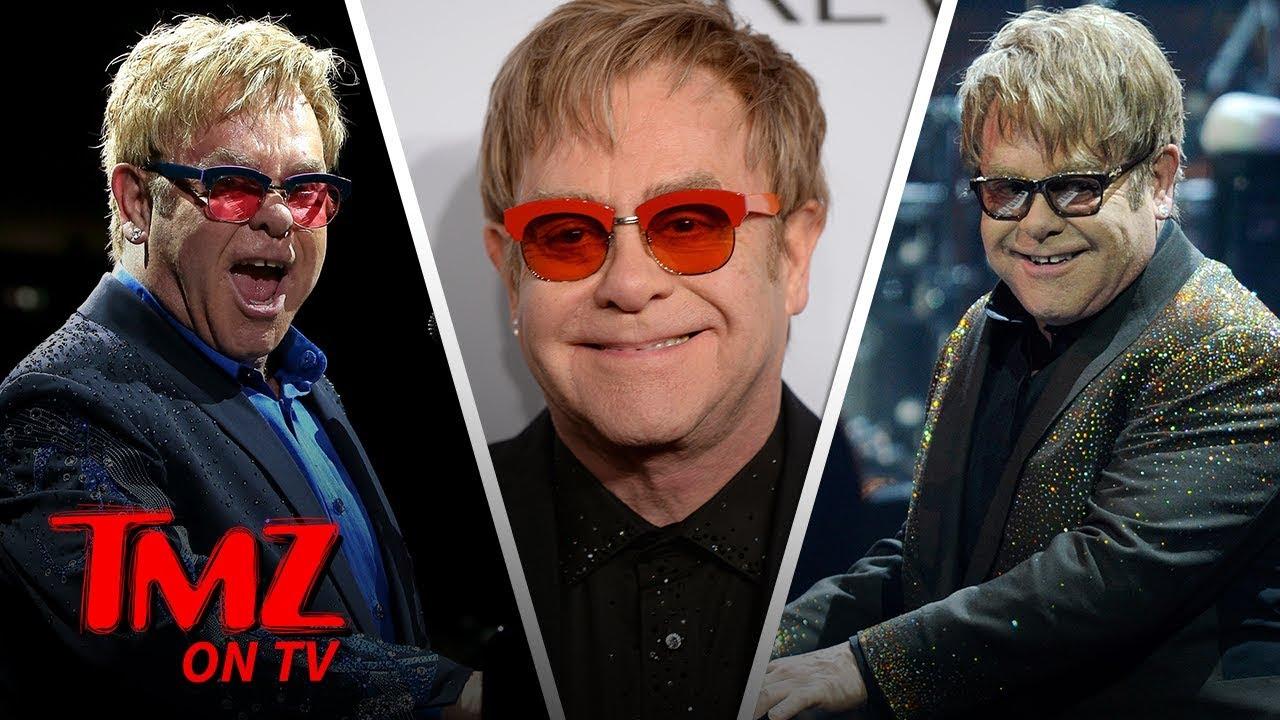 Elton John Is Officially Done Touring | TMZ TV 3
