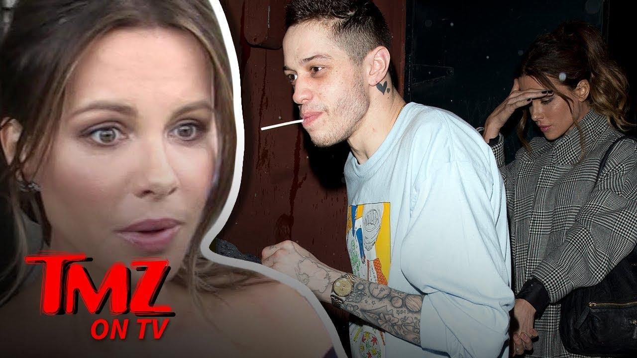 Pete Davidson & Kate Beckinsale Are A THING?! | TMZ TV 3