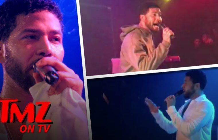 Jussie Smollett Performs For The First Time Since Alleged Attack | TMZ TV 1