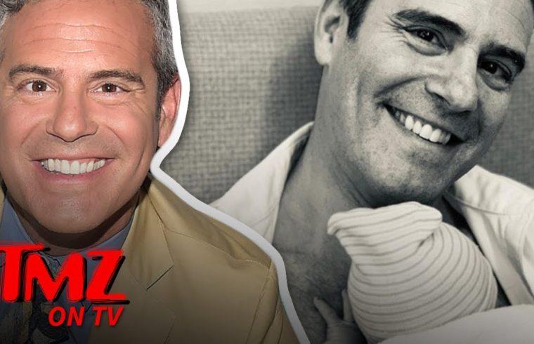 Andy Cohen Is A Dad! | TMZ TV 1