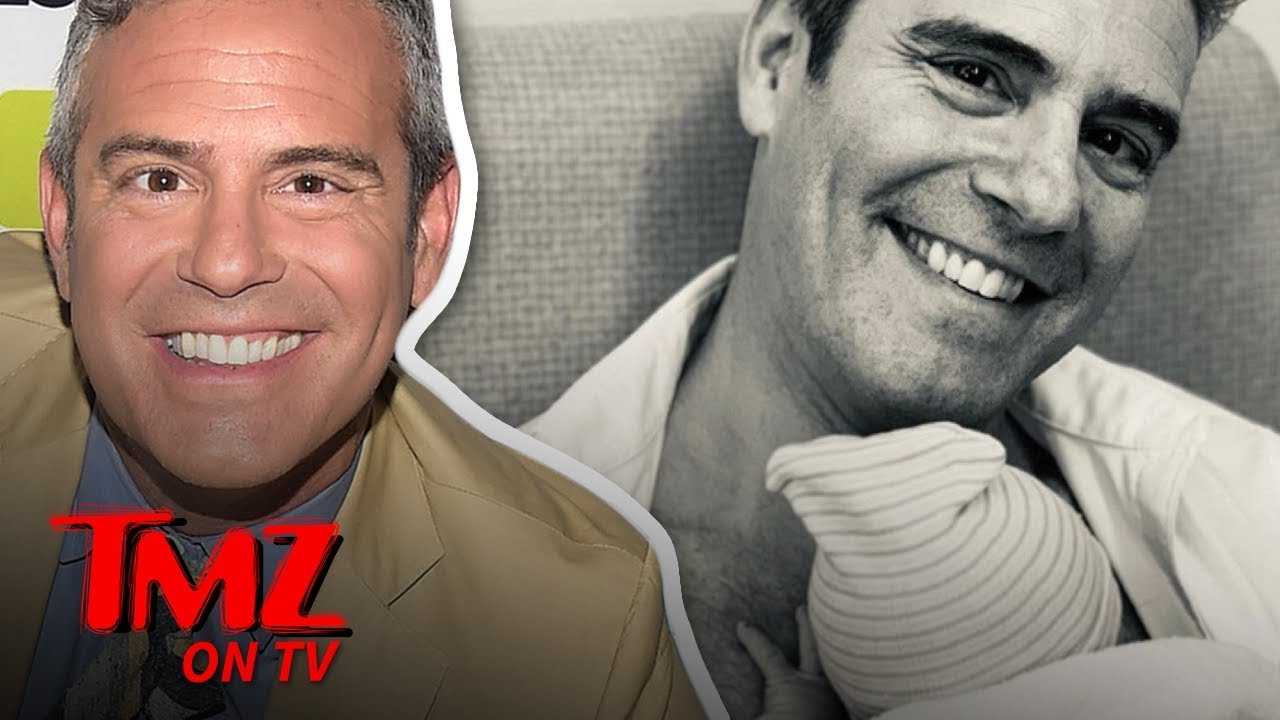 Andy Cohen Is A Dad! | TMZ TV 4
